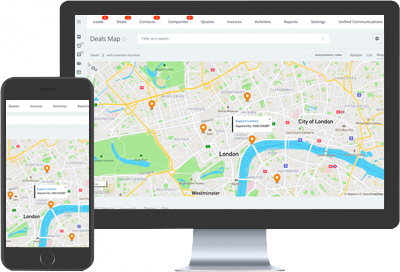 Sales-Map-Bitrix24